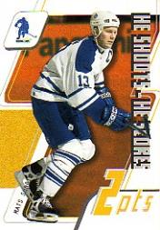 2003-04 BAP Memorabilia He Shoots-He Scores Points #11 Mats Sundin 2 Pts.
