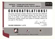 2004-05 ITG Franchises US West Trophy Winners #WTW8 Patrick Roy back image
