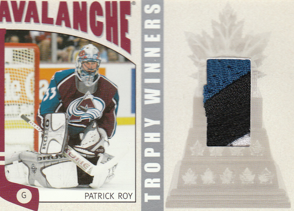 2004-05 ITG Franchises US West Trophy Winners #WTW8 Patrick Roy front image