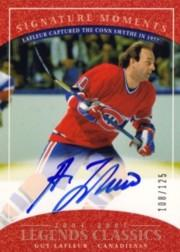 2004-05 UD Legends Classics Signature Moments #M29 Guy Lafleur