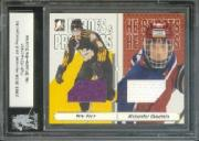 2004-05 ITG Heroes and Prospects He Shoots He Scores Prizes #8 Alexander Ovechkin/Eric Fehr