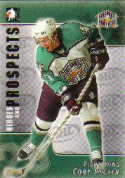 2004-05 ITG Heroes and Prospects #1 Cory Pecker