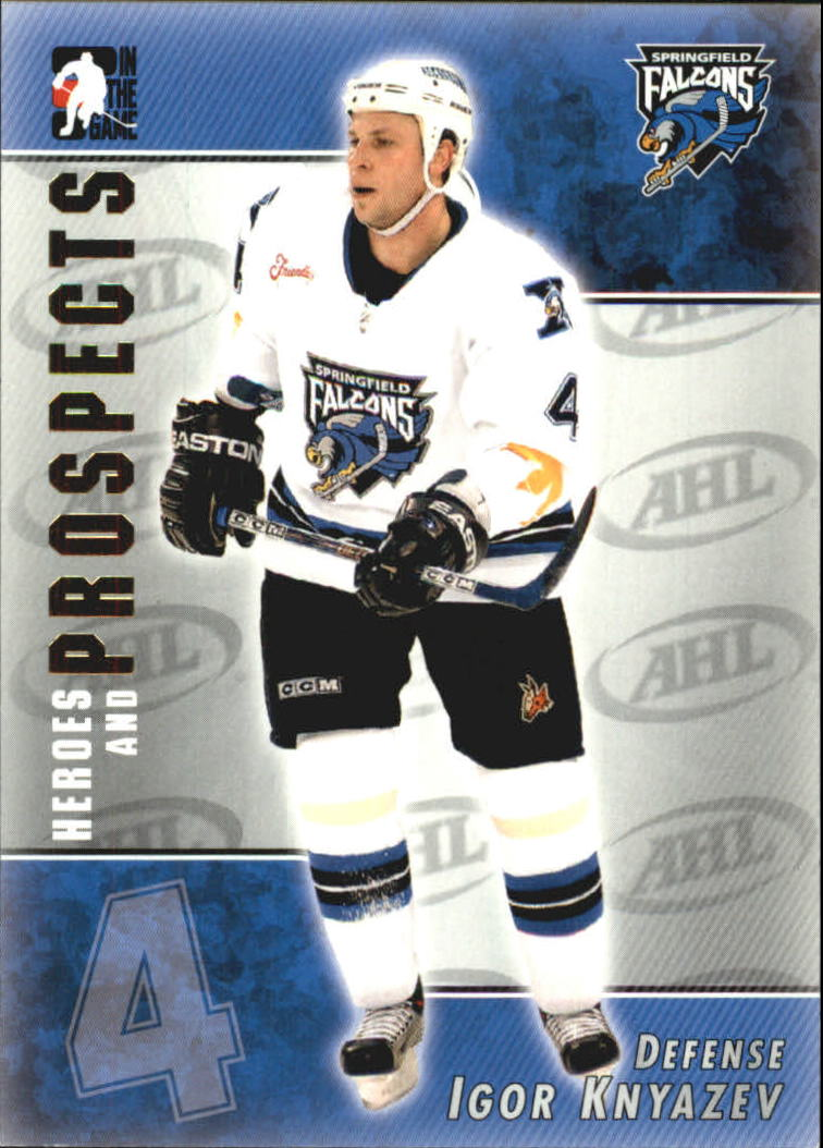 2004-05 ITG Heroes and Prospects #6 Igor Knyazev
