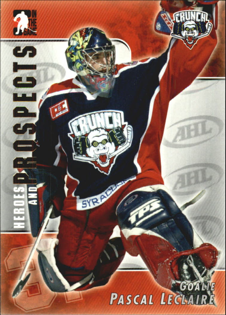 2004-05 ITG Heroes and Prospects #7 Pascal Leclaire