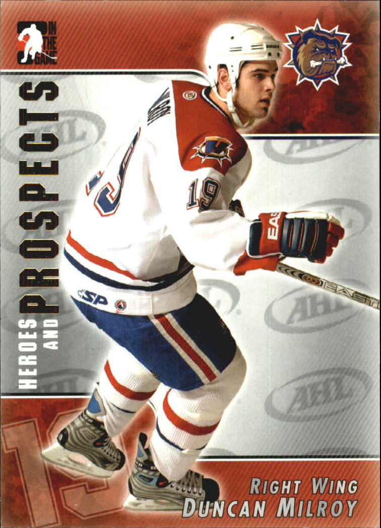 2004-05 ITG Heroes and Prospects #9 Duncan Milroy