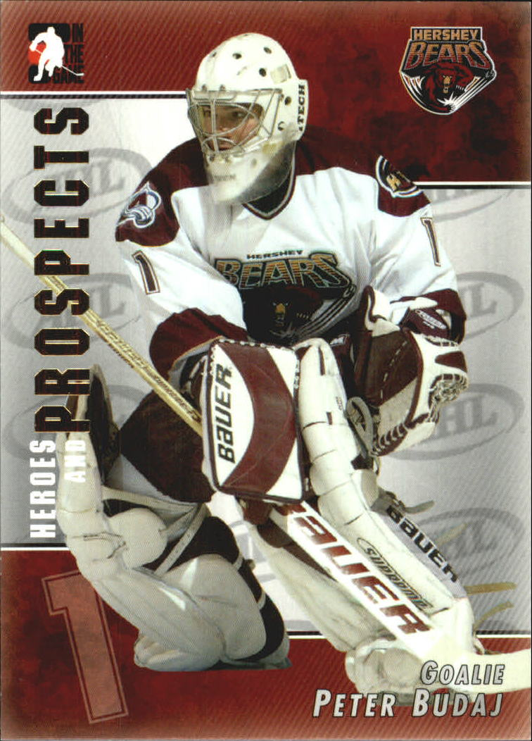 2004-05 ITG Heroes and Prospects #11 Peter Budaj