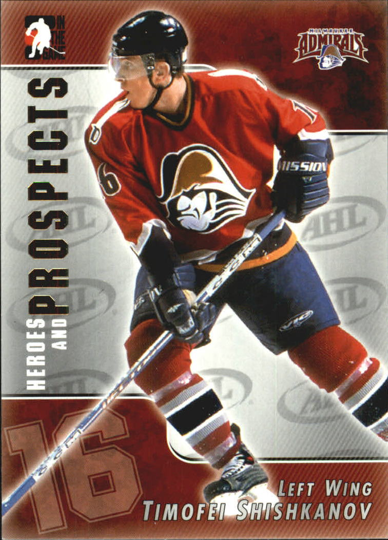 2004-05 ITG Heroes and Prospects #12 Timofei Shishkanov