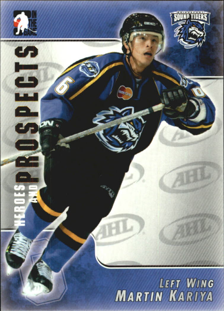 2004-05 ITG Heroes and Prospects #16 Martin Kariya
