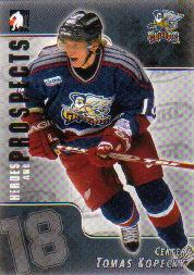 2004-05 ITG Heroes and Prospects #18 Tomas Kopecky