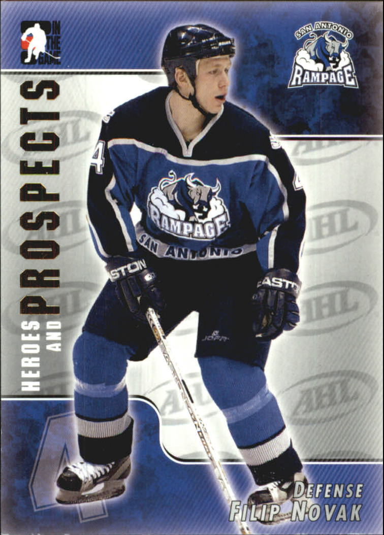 2004-05 ITG Heroes and Prospects #20 Filip Novak