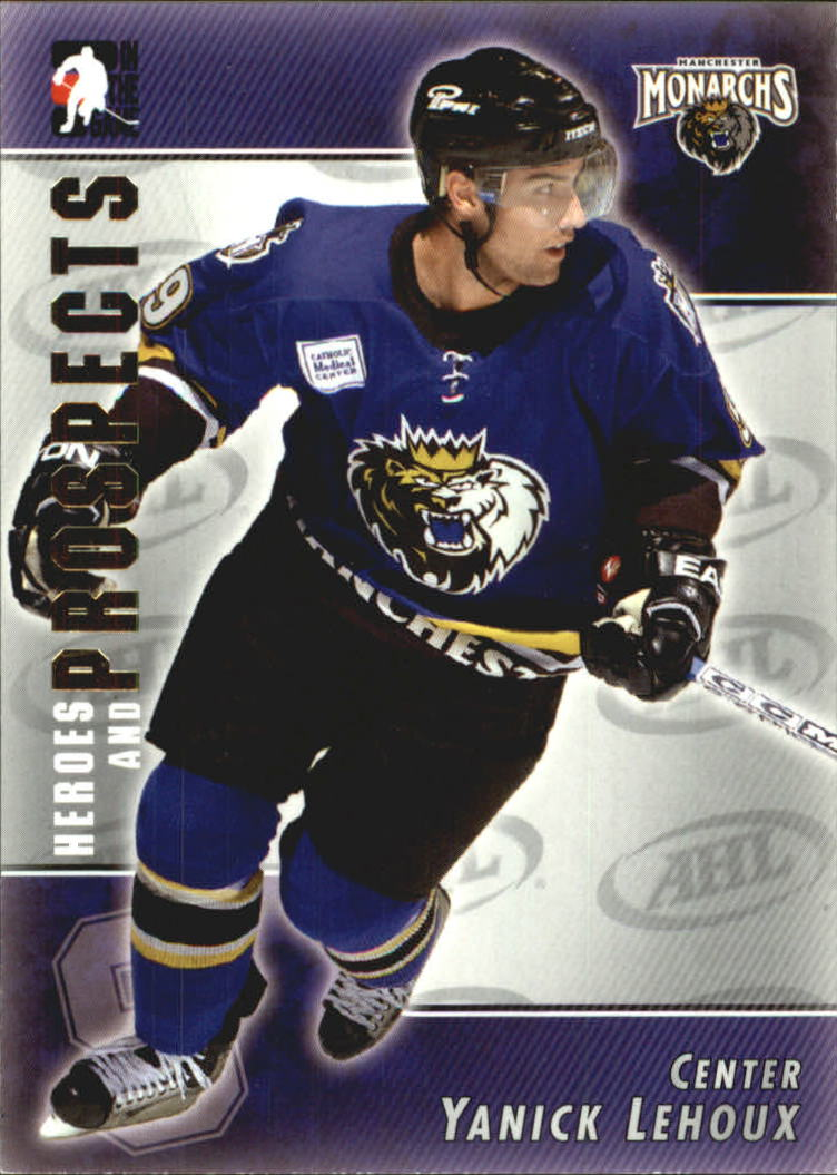 2004-05 ITG Heroes and Prospects #23 Yanick Lehoux