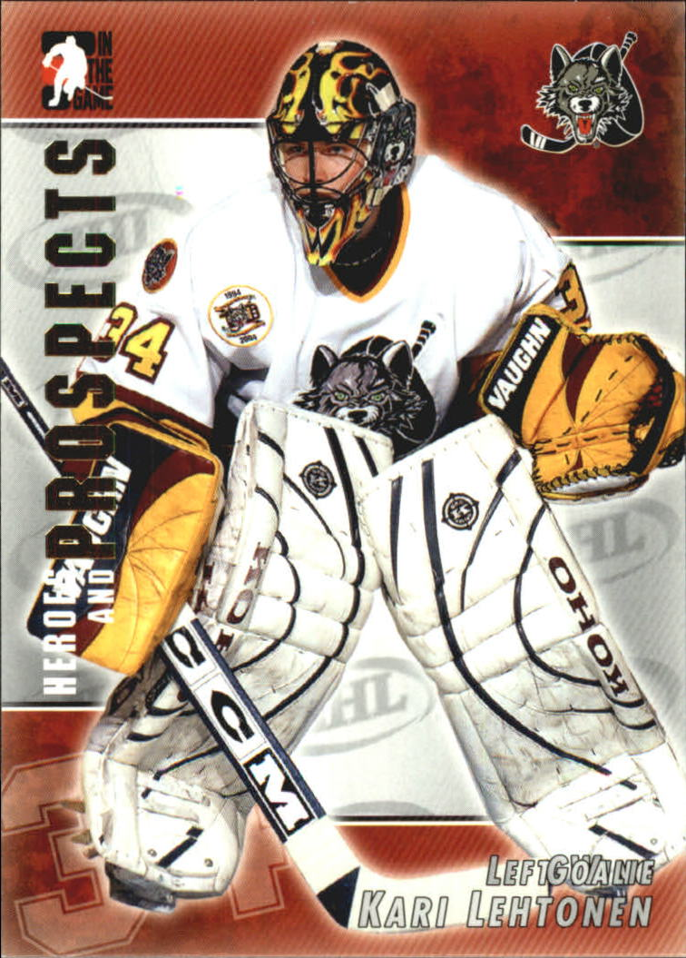 2004-05 ITG Heroes and Prospects #24 Kari Lehtonen