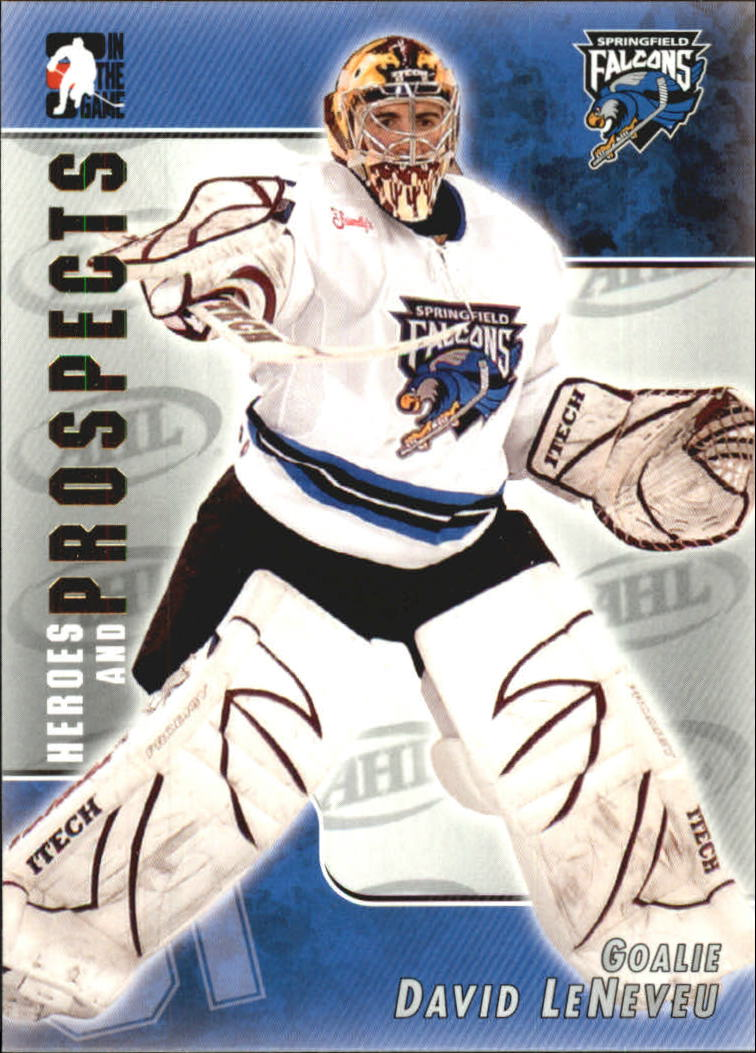 2004-05 ITG Heroes and Prospects #27 David LeNeveu