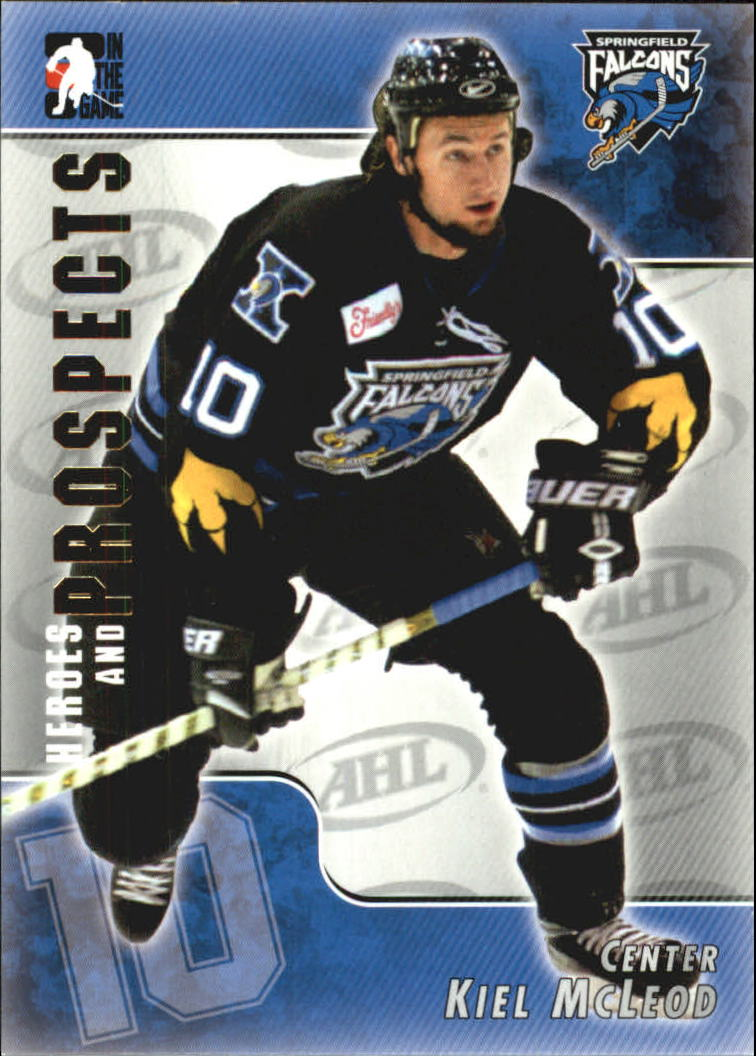 2004-05 ITG Heroes and Prospects #28 Kiel McLeod