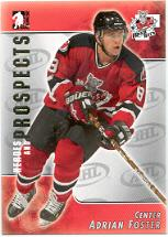 2004-05 ITG Heroes and Prospects #31 Adrian Foster