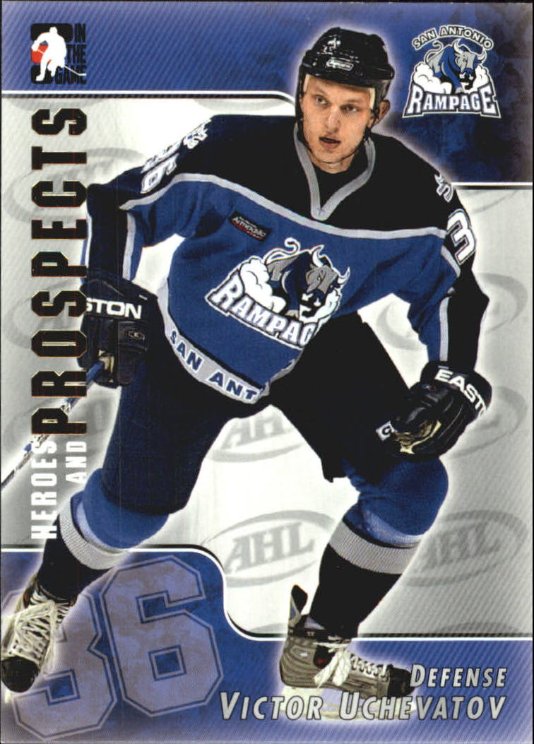 2004-05 ITG Heroes and Prospects #32 Victor Uchevatov