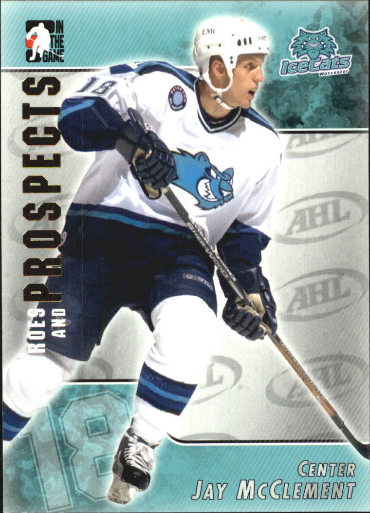 2004-05 ITG Heroes and Prospects #33 Jay McClement
