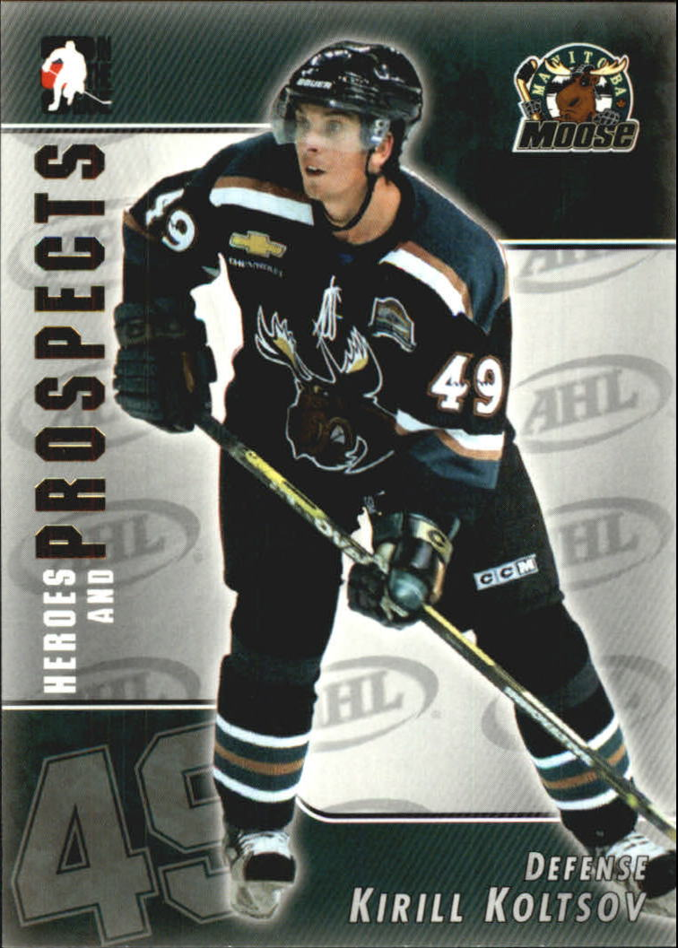 2004-05 ITG Heroes and Prospects #35 Kirill Koltsov