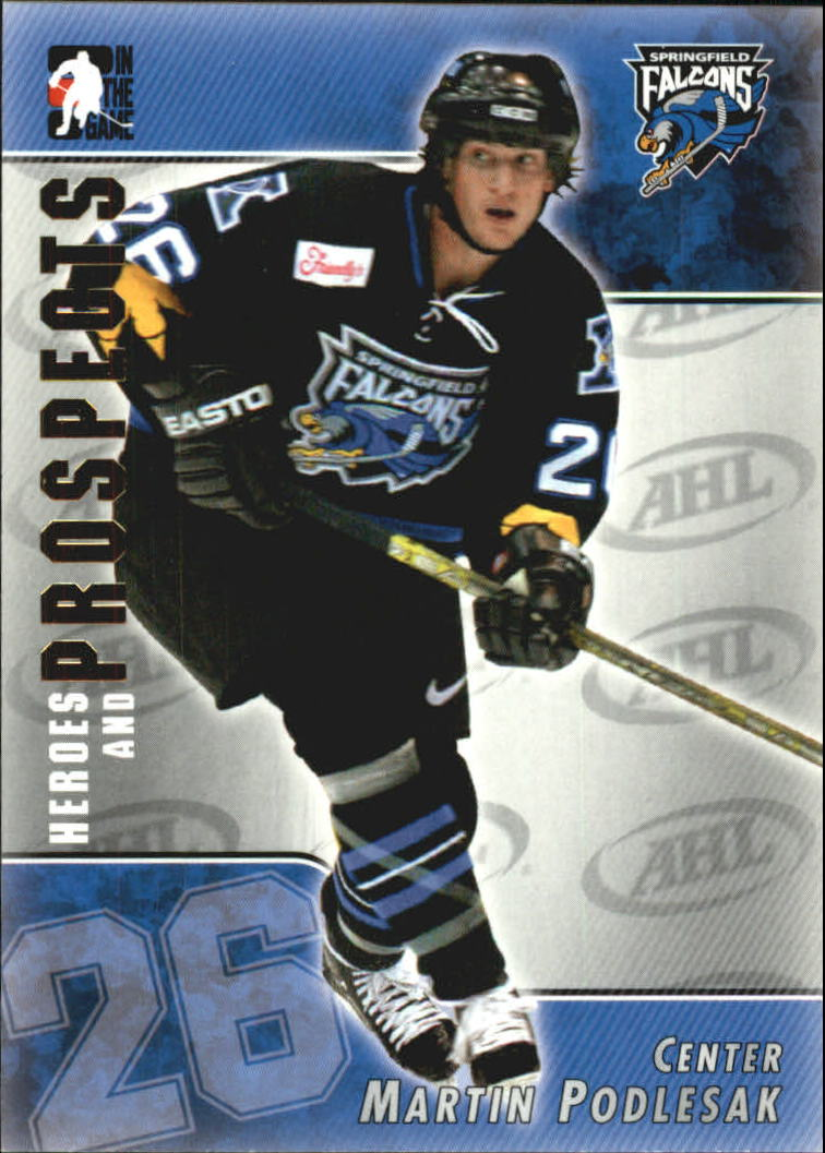 2004-05 ITG Heroes and Prospects #41 Martin Podlesak