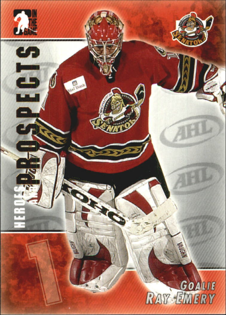 2004-05 ITG Heroes and Prospects #45 Ray Emery