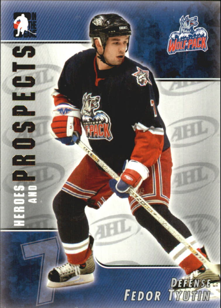 2004-05 ITG Heroes and Prospects #46 Fedor Tjutin