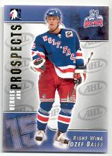 2004-05 ITG Heroes and Prospects #47 Jozef Balej