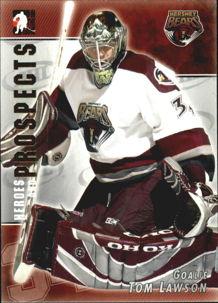 2004-05 ITG Heroes and Prospects #49 Tom Lawson