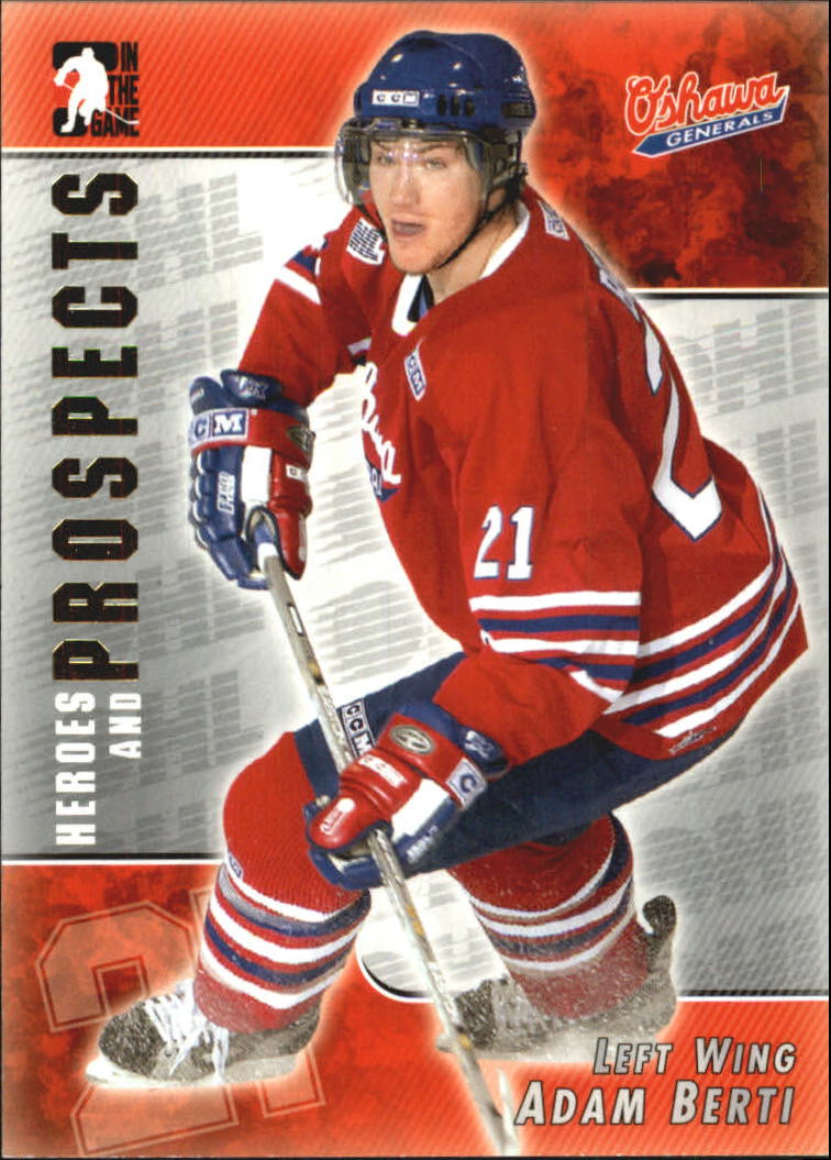 2004-05 ITG Heroes and Prospects #51 Adam Berti