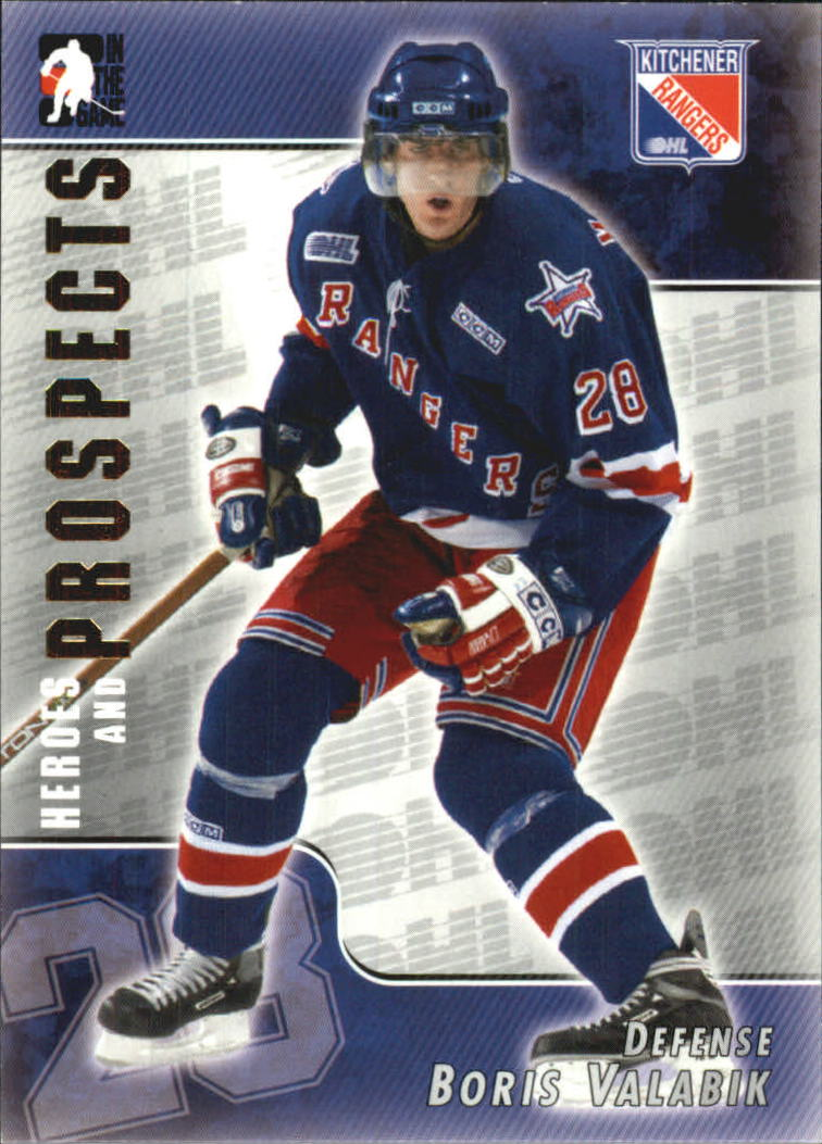 2004-05 ITG Heroes and Prospects #56 Boris Valabik