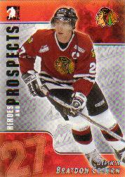 2004-05 ITG Heroes and Prospects #57 Braydon Coburn
