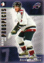 2004-05 ITG Heroes and Prospects #58 Brent Seabrook