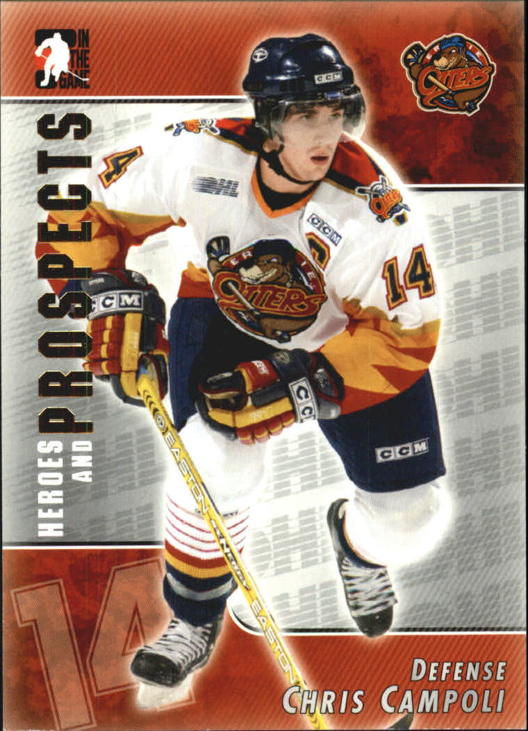 2004-05 ITG Heroes and Prospects #63 Chris Campoli