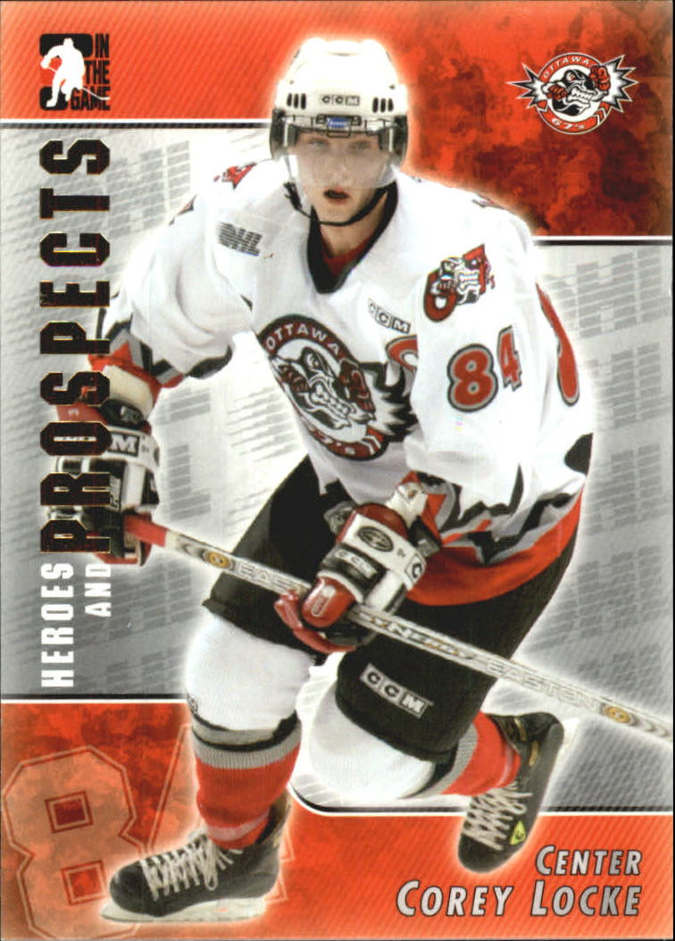 2004-05 ITG Heroes and Prospects #64 Corey Locke