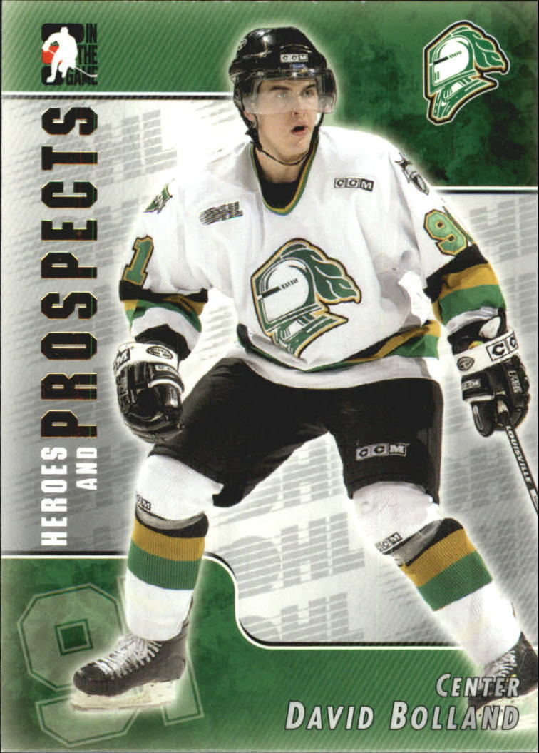 2004-05 ITG Heroes and Prospects #68 David Bolland