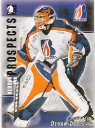 2004-05 ITG Heroes and Prospects #71 Devan Dubnyk
