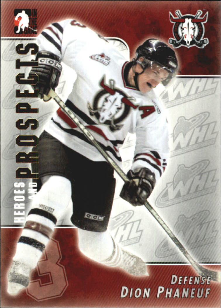 2004-05 ITG Heroes and Prospects #72 Dion Phaneuf