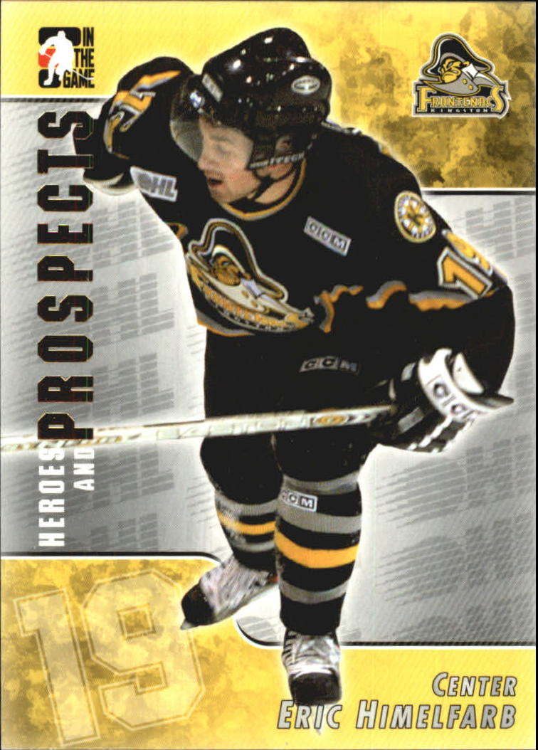 2004-05 ITG Heroes and Prospects #75 Eric Himelfarb