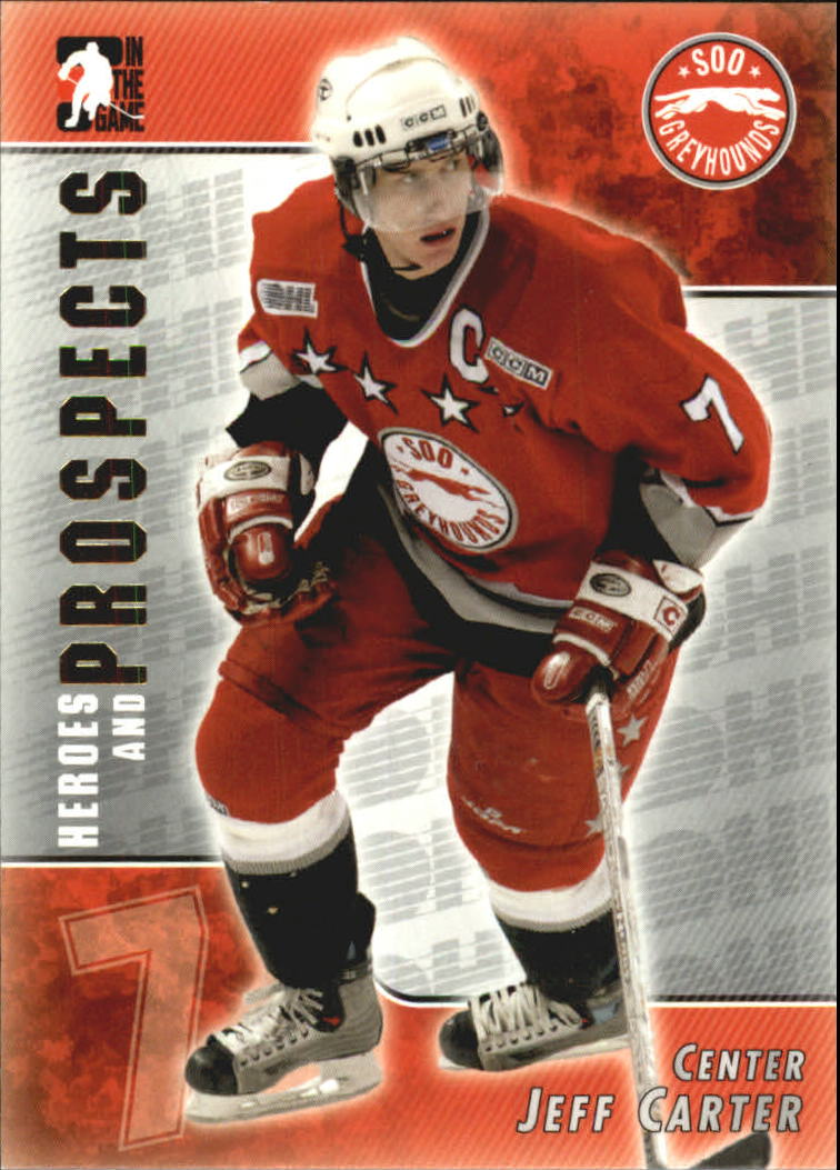 2004-05 ITG Heroes and Prospects #78 Jeff Carter