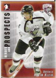 2004-05 ITG Heroes and Prospects #86 Kevin Klein