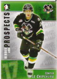 2004-05 ITG Heroes and Prospects #87 Kyle Chipchura