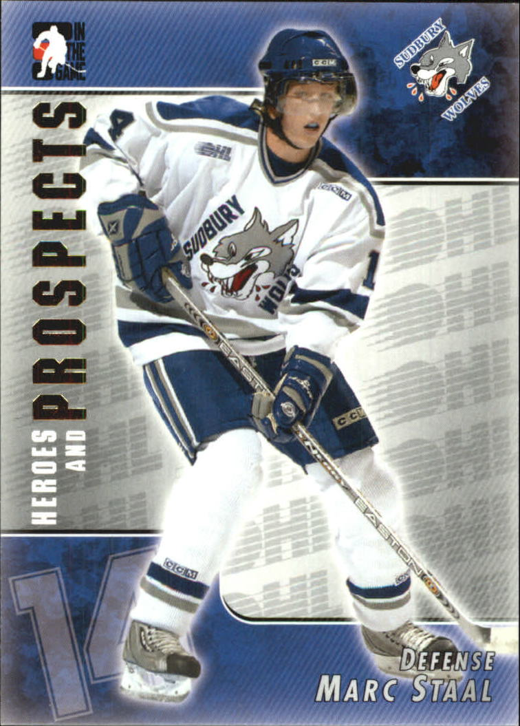 2004-05 ITG Heroes and Prospects #89 Marc Staal