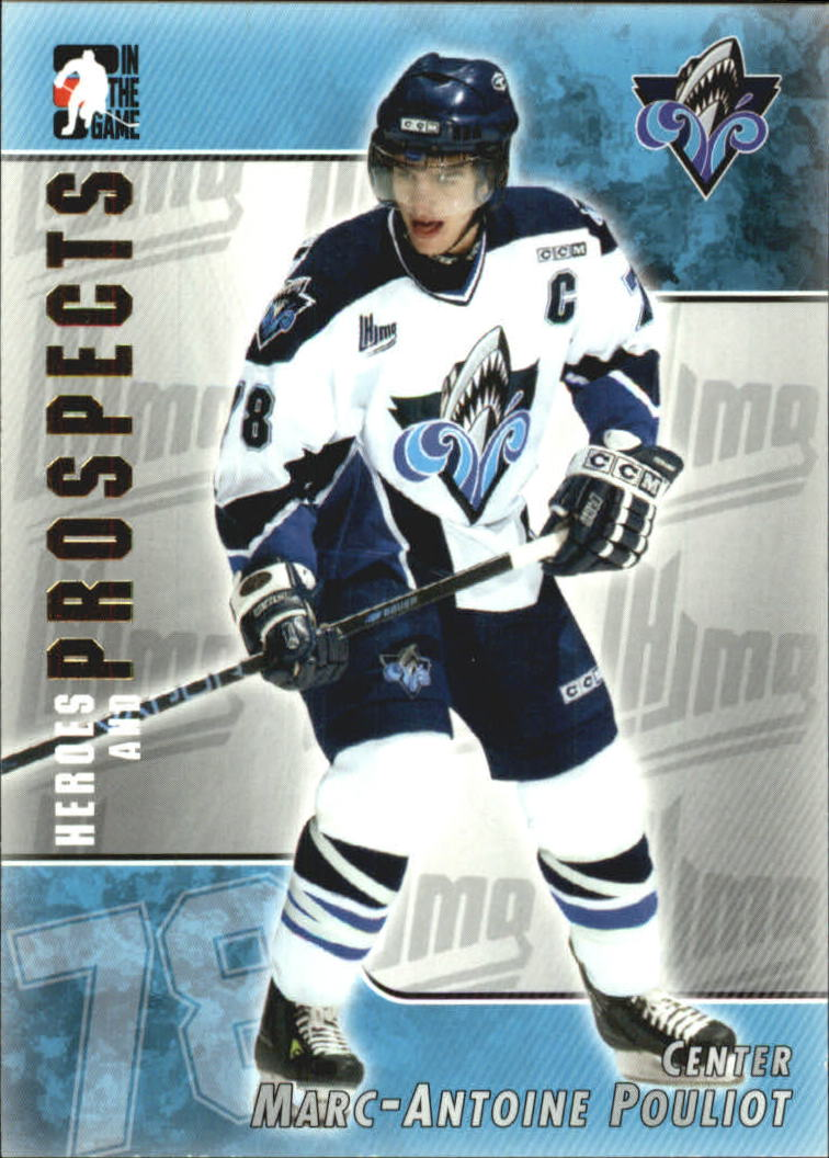 2004-05 ITG Heroes and Prospects #90 Marc-Antoine Pouliot