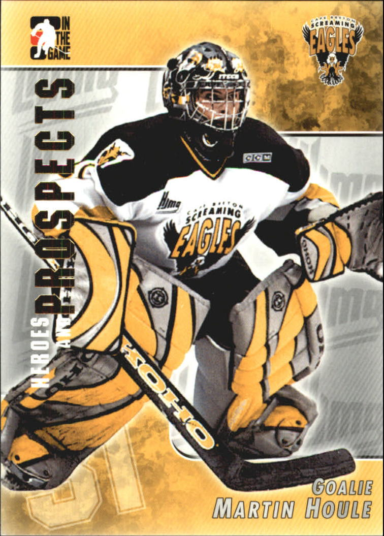 2004-05 ITG Heroes and Prospects #91 Martin Houle