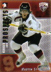 2004-05 ITG Heroes and Prospects #92 Martin St. Pierre