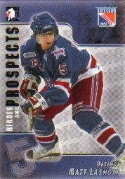 2004-05 ITG Heroes and Prospects #93 Matt Lashoff