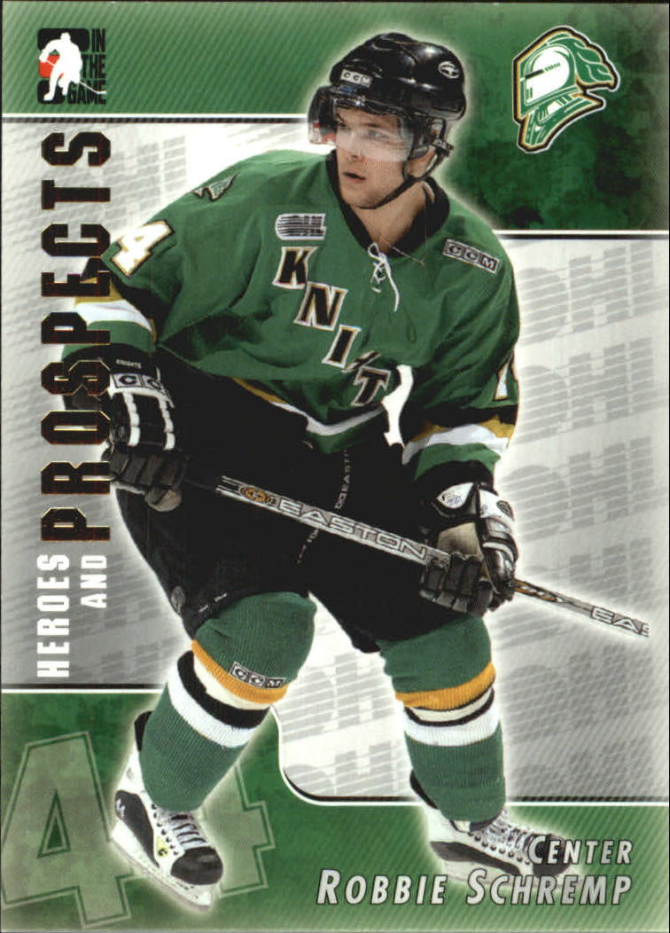2004-05 ITG Heroes and Prospects #100 Robbie Schremp