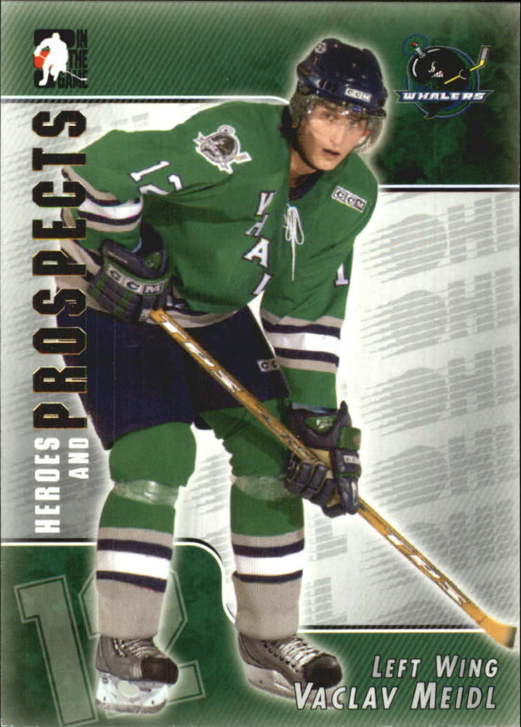 2004-05 ITG Heroes and Prospects #109 Vaclav Meidl