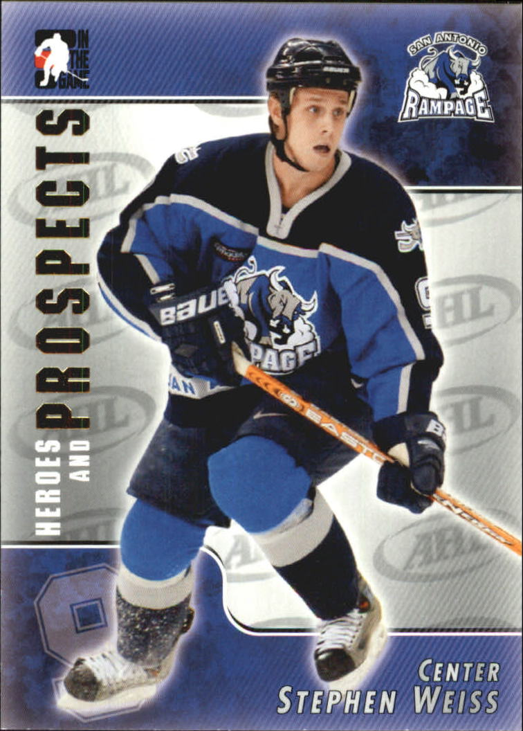 2004-05 ITG Heroes and Prospects #111 Stephen Weiss