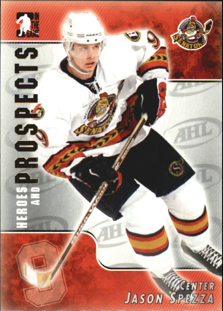 2004-05 ITG Heroes and Prospects #115 Jason Spezza
