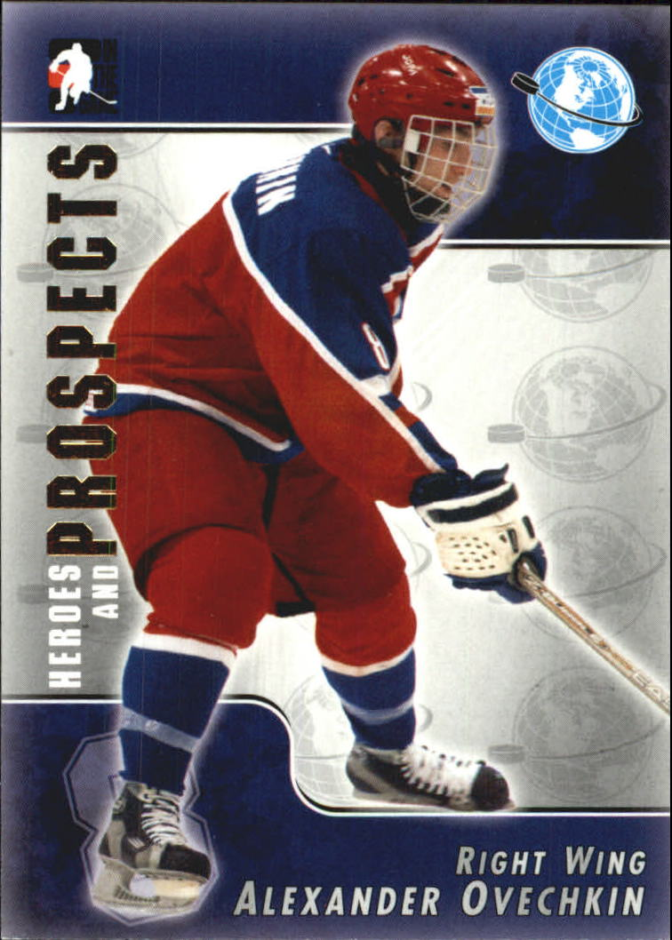 2004-05 ITG Heroes and Prospects #117 Alexander Ovechkin